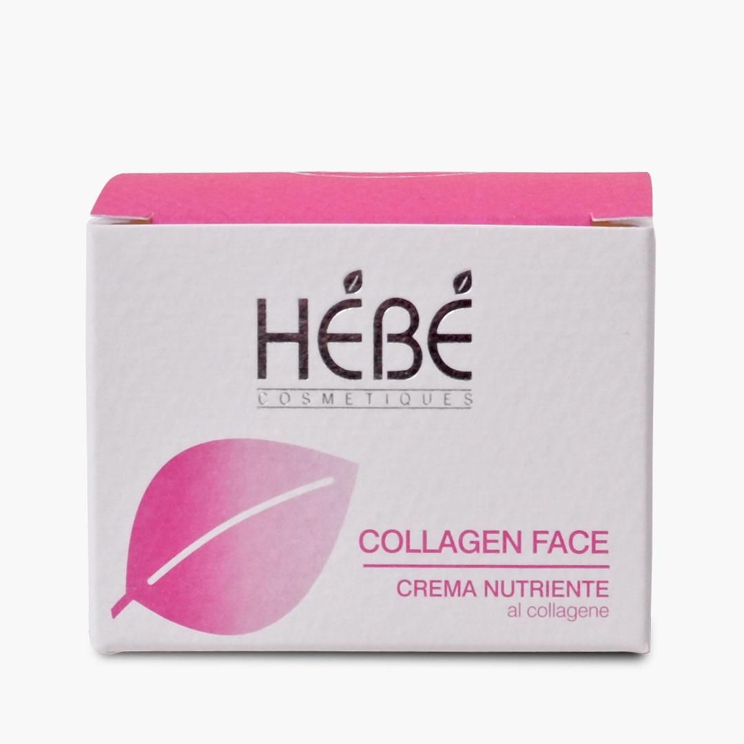 crema viso al collagene