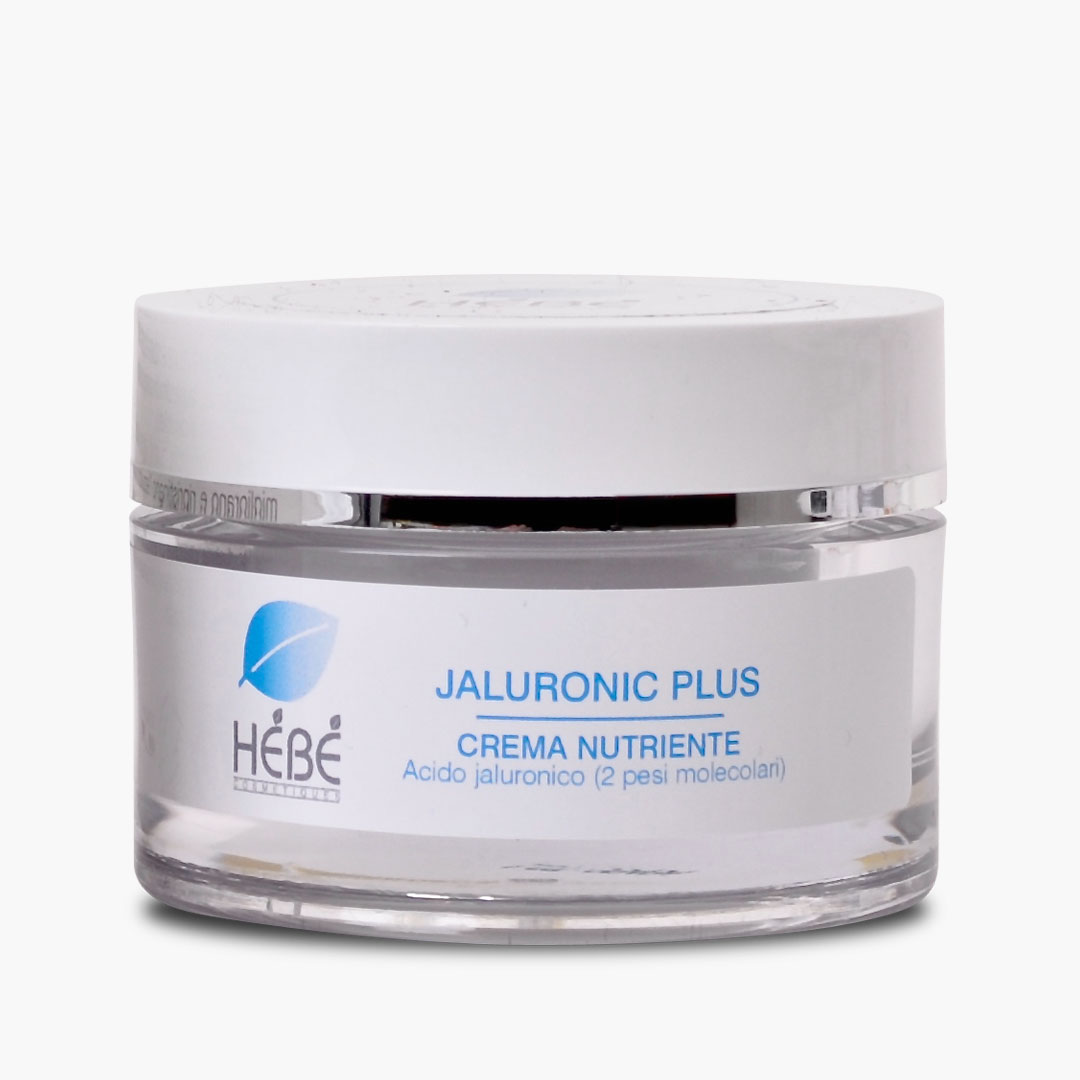 Crema nutriente viso all'acido jaluronico